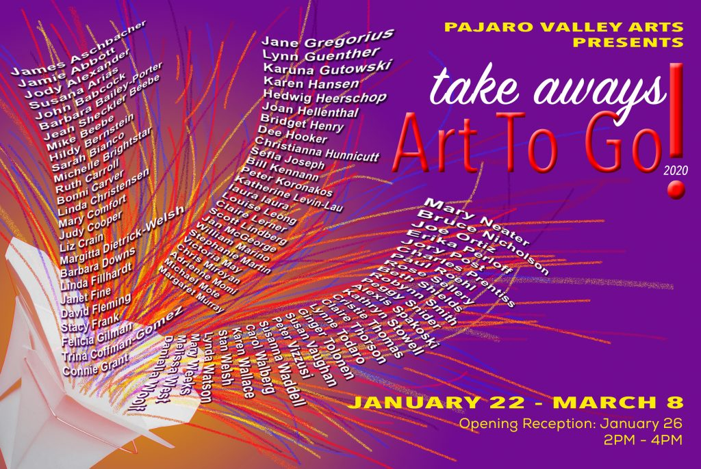 Take Aways: Art To Go!
