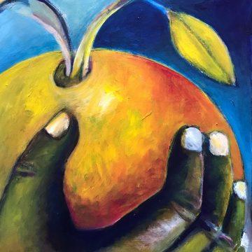 "Orange by Judy Gittelsohn, 18"" x 24"" (Online Gallery Only)"