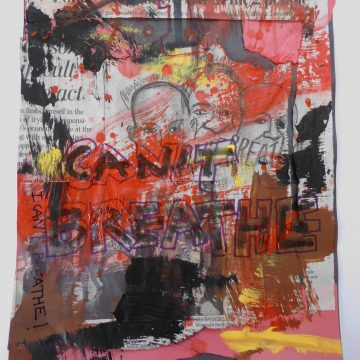 """Look at Me by Kathryn Hannay, Mixed Media 9"""" x 12"""""""
