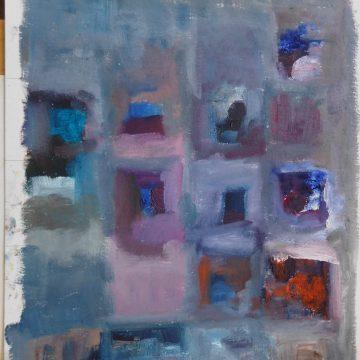 """Isolation by Kathryn Hannay, Oil 9"""" x 12"""""""