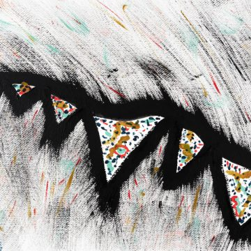 Migrane Dreams by Sally Vaughn, Acrylic on Paper
