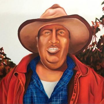 Humberto by Arleene Correa Valencia,Oil on Canvas