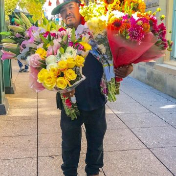 Flower Seller by Don Monkerud, Photograph