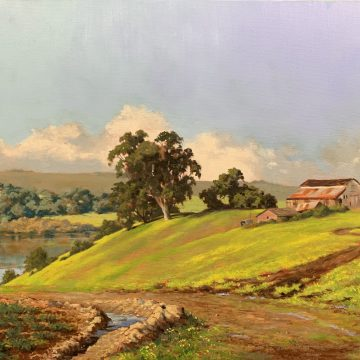 Hola by Ed Penniman, Oil on Canvas