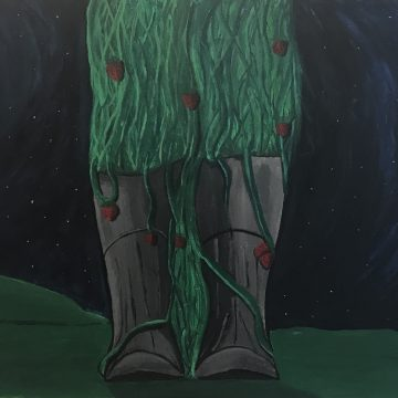Botas de Fresas by Gabriel Medina, Acrylic
