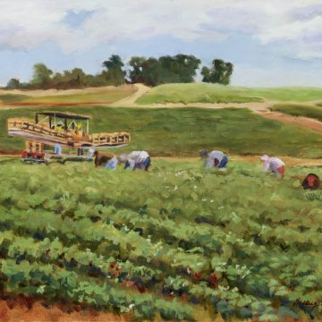Berry Harvestby Michelle Hausman,Oil on Canvas