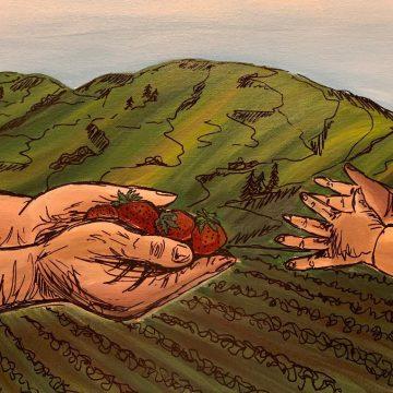 Bearing Fruits by Yesenia Magdeleno-Solis, Mixed Media