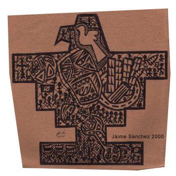 Que Viva by Jaime Sanchez,Pen on Paper
