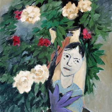 """Face of the Vase by David Fleming, $1150, Oil on Canvas, 30"""" x 24"""""""
