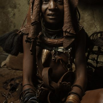 """Himba Woman, Nambia by Mary Altier, $200, Color Photograph 18"""" x 12"""""""